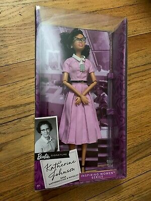 Barbie Inspiring Women Series - KATHERINE JOHNSON Doll  FJH63 BRAND NEW
