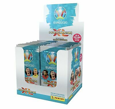 Panini UEFA Euro 2020 Adrenalyn XL Cards 50 Packs Full Box