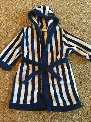 Baby Boys Dressing Gown Age 1/ 1 Half Years By MINICLUB