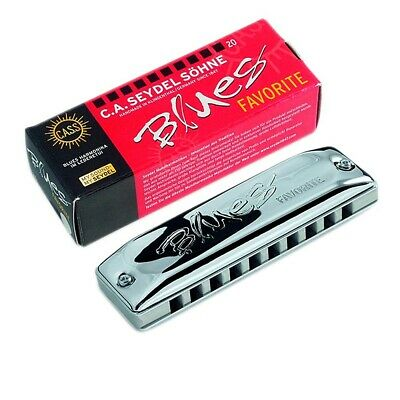 Seydel Blues Favorite Harmonica LOW Ab Solid Aluminum Comb $30 OFF SALE!