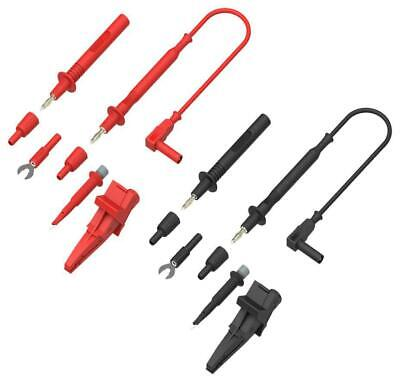 4mm Test Leads & Probes Kit, 0.15m - TENMA