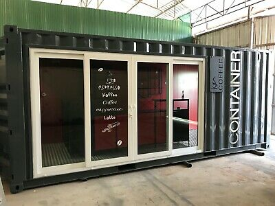 Converted Shipping Container - Café / Coffee Shop 20ft available