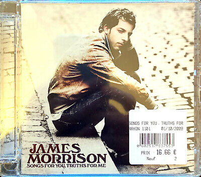 James Morrison CD Songs For You, Truths For Me - Europe (M/M - Scellé)