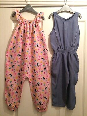Girls Cute Jumpsuit Bundle Aged 2-3 Years