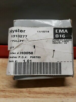 Hyster 1310277 Alternator Pulley ☆New Surplus Free Shipping☆