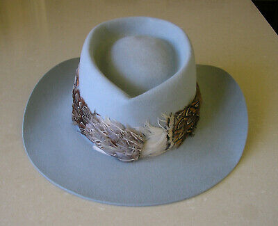 Vintage Akubra Hat; soft grey color; size 57; excellent condition, rarely worn