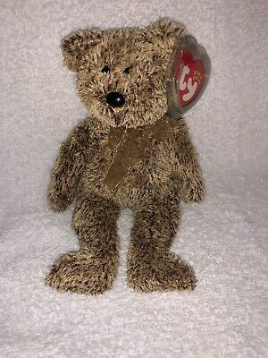 TY Beanie Baby Pristine with Mint Tags HARRY the Brown Bear RETIRED