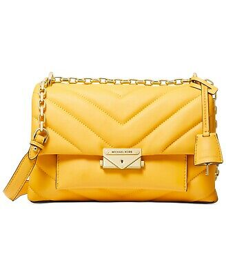 NWT MICHAEL KORS Cece Medium Quilted Chain Convertible