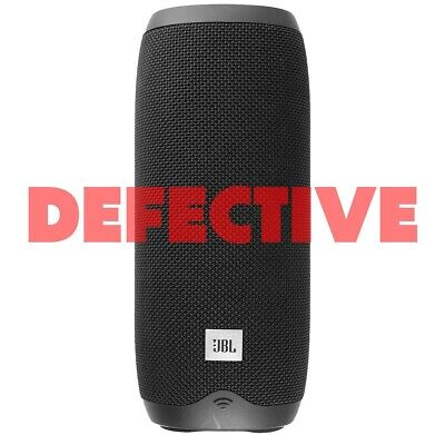 DEFECTIVE Harman JBL Link 20 Voice Activated Portable Bluetooth Wireless Speaker