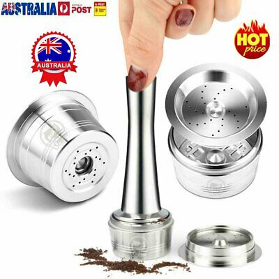 Refillable Reusable Coffee Capsules Metal Pods Cup For Nespresso U Machines %N