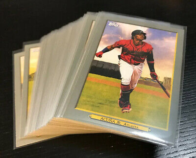 2020 Topps TURKEY RED '20 Inserts - Complete Your Set!