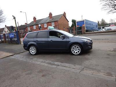 2009 59 Ford Focus 1.8 Litre Zetec Estate In Metallic Grey - Service History