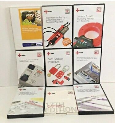 NICEIC Electrical Installation Condition Reports and Testing  DVD 17th Edition