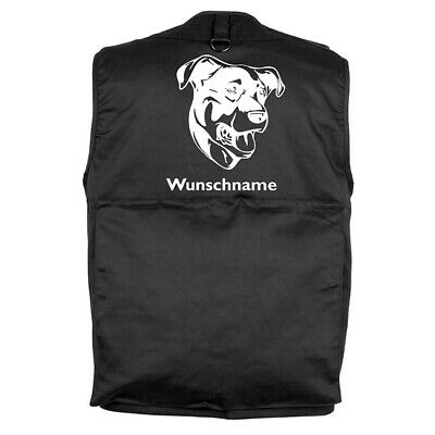 MIL-TEC Hundesport Outdoor Weste Beauceron inkl. Wunschname
