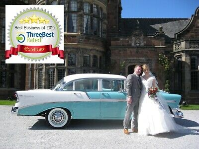 Vintage,Classic 1950's American Wedding Car Service -North & West Yorkshire Area