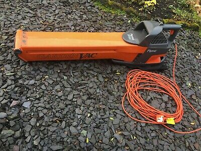 Flymo GV650 Garden Vac Leaf Blower / Collector with Bag.