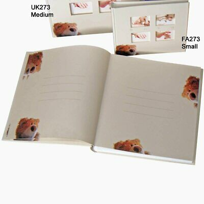Classic Bear medium baby photo album