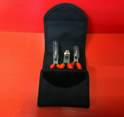 Snap On Plier Set New In Carry Case Orange Plp300Ao.