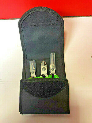 Snap On Plier Set New In Carry Case Green Plp300A