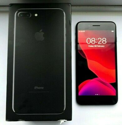*Good Condition* Apple iPhone 7 Plus - 32GB - Jet Black (Unlocked) A1784 (GSM)