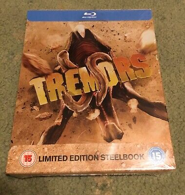 Tremors Blu-Ray - Limited Edition Steelbook - New