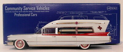 Brooklin 1/43 Scale CSV16A - 1960 Miller-Meteor Cadillac Guardian Ambulance