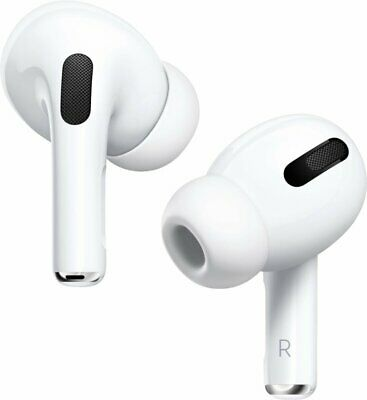 Genuine Apple AirPods Pro with Wireless Charging Case - MWP22AM/A - (VG) No Box