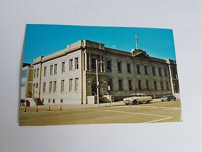 Brandon Manitoba Post Office Canada Unposted Vintage Postcard