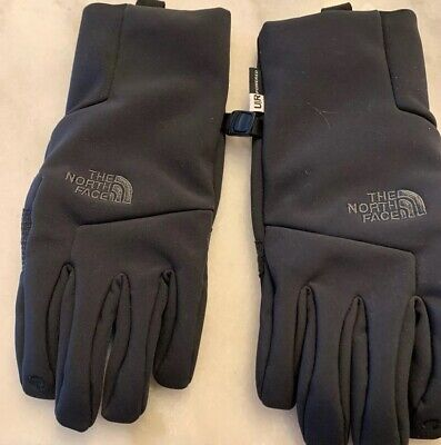 THE NORTH FACE U/R powered Apex+ Etip Gloves Women's Small Black