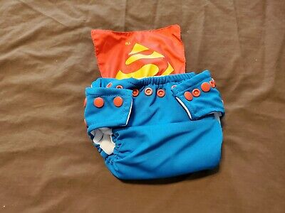 Bumkins Super Man Cloth Diaper
