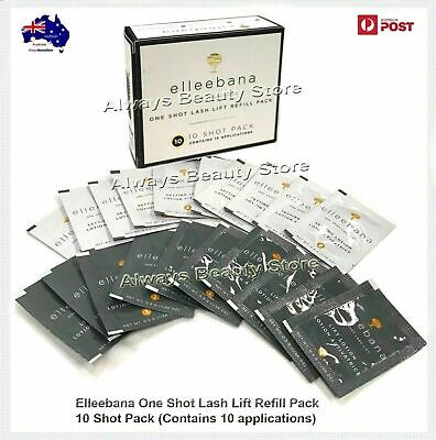 Elleebana One Shot EyeLash Lash Lift Refill Pack 10 Shot Satchel Packs