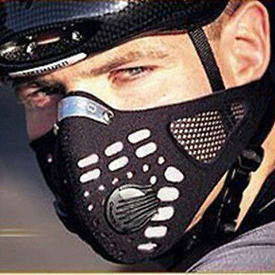 Anti Dust Filter Half Face Shield Cycling Bicycle Bike Motorcycle Racing Sport