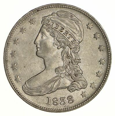 1838 Capped Bust Half Dollar - Near Uncirculated *6160