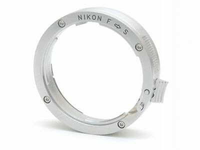 Nikon F to S adapter.