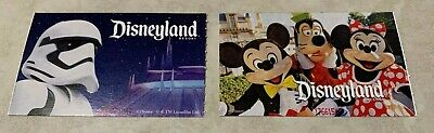 Qty. 2 Disneyland California One (1) Day, One Resort Theme Park Tickets Passes!!