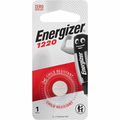 Energizer 1220 3V Lithium Coin/Button Cell Batteries - 1 Pack - Zero Mercury