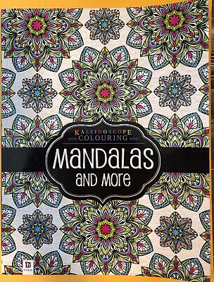 Hinkler: Kaleidoscope Colouring - Mandalas & More Colouring Book