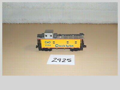 """Caboose Microscale Decal N  #60-790 Chessie System /""""Safety/"""" Cabooses 1976-1989"""