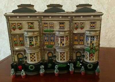 Set of 2 MIB Dept 56 Dickens Village T Smith Christmas Crackers