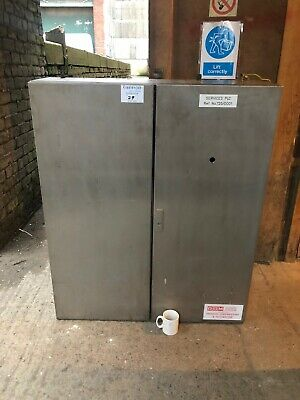 Rittal Stainless Steel Enclosure Cabinet Electrical Pneumatic Instal Food Grade