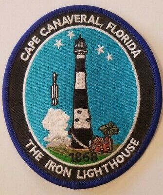 Cape Canaveral Security Police Iron-on Vintage Patch NASA Kennedy Space Center