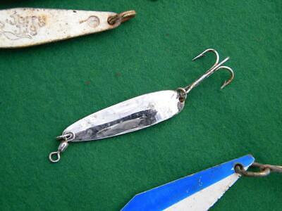 Blue Falls Bait Co Excitor nos spoon with prism and two hooks EX2 free ship!