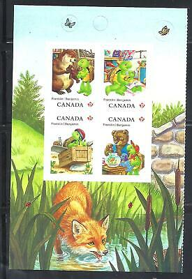 CANADA FRANKLIN THE TURTLE BOOKLET PANE OF 4 SCOTT 2545a  MINT NH (BS14301)