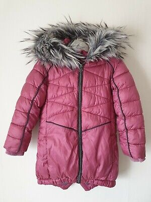 Next Girls Pink Padded Jacket, Size: 4yrs(104cm)