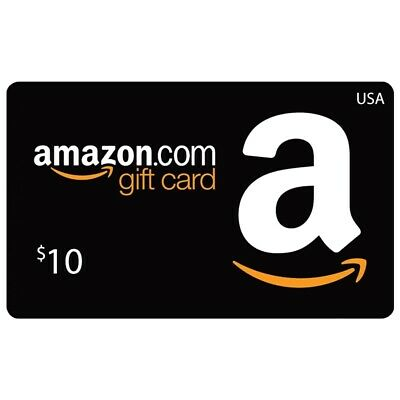 Amazon Gift Card 10$ ⚡Fast Delivery