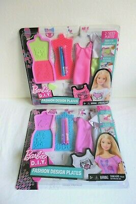 Dolls Bears Barbie D I Y Fashion Design Plates 2 Other Contemp Barbie Dolls Themadrasflyingclub Org