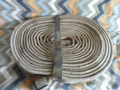 Vintage Fire Hose With Ends