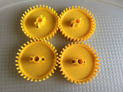 """Pieces Lot 8 KNEX GEARS Yellow 2 1//4/"""" Gear Replacement Parts"""