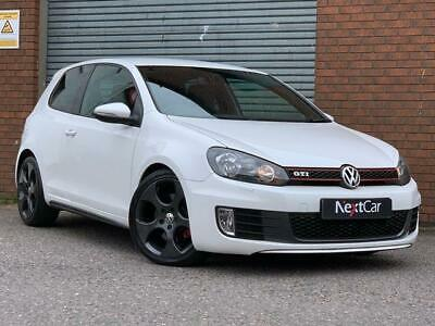 Volkswagen Golf 2.0 TSI GTI DSG Stunning Example in White, with the DSG SemiAuto