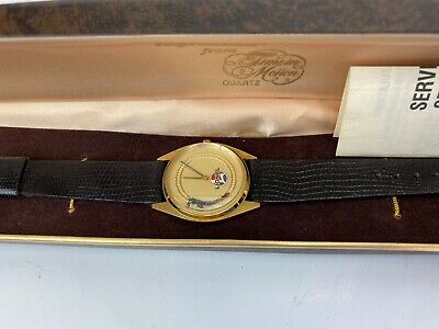 Vintage Lionel Collectible Train Watch Collectible Watch Leather Band NIB